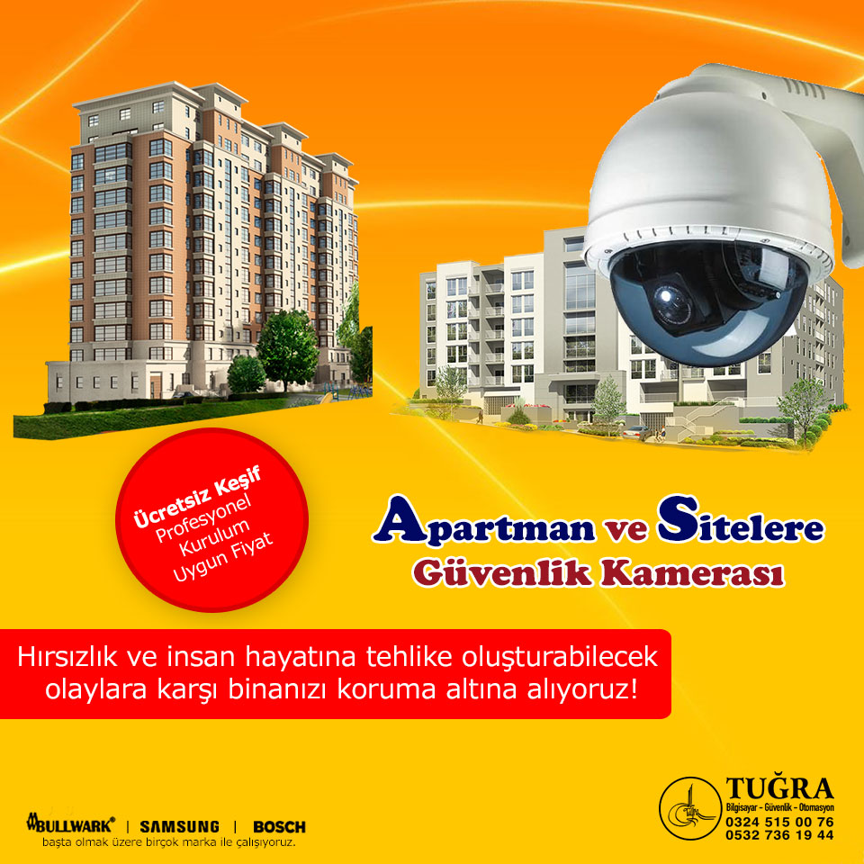 Apartman Site Kamera