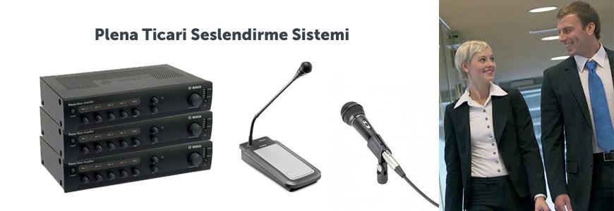 Genel Seslendirme ve Acil Anons Sistemleri