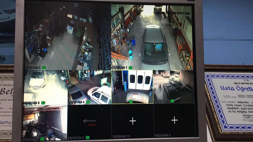 Güvenlik Kamerası Sistemi