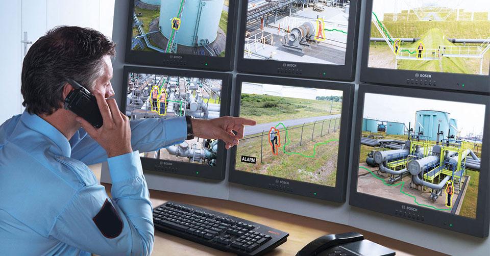 Fabrika ve Tesis Güvenlik Sistemleri