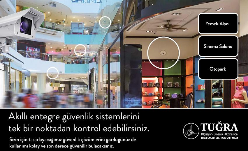Alışveriş merkezi ve Mağazalar İçin Güvenlik Sistemleri